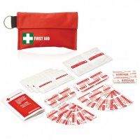 34PC FIRST AID POUCH