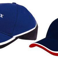 Tri-coloured cap