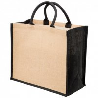Eco Jute Tote with w