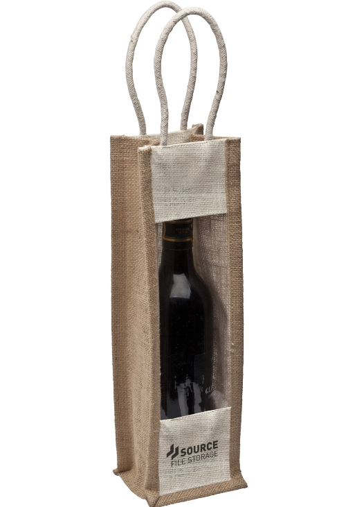 Jute Wine Carrier