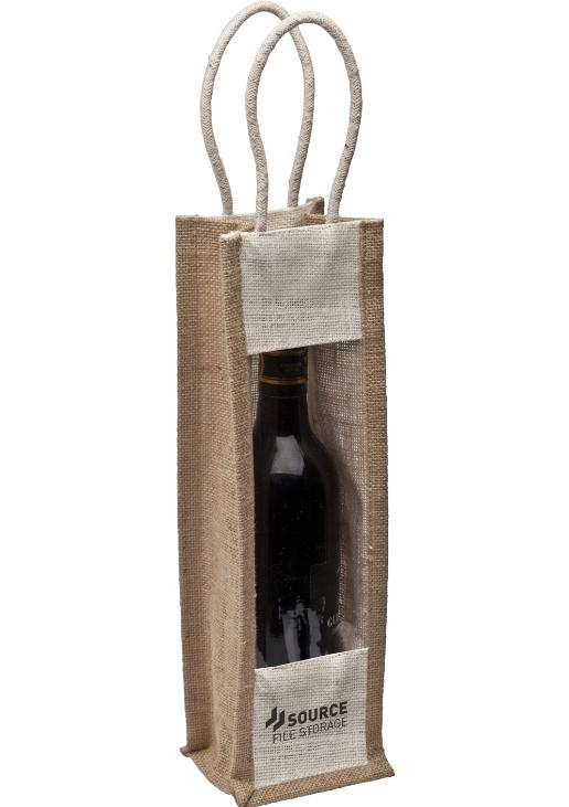 Jute Wine Carrier