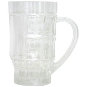 Polycarbonated beer stein