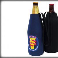 Long Neck Cooler With Zipper