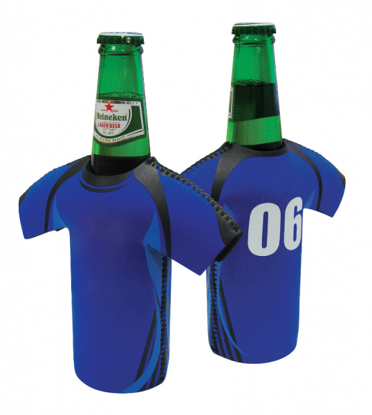 Soccer Style Jersey Bottle Cooler