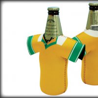 Rugby Union Style Jersey Bottle Cooler