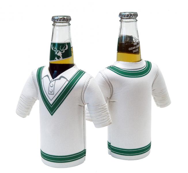 Test Match Cricket Jersey Bottle Cooler