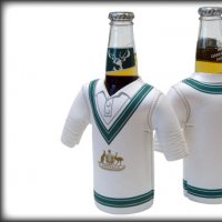 Test Match Cricket Jersey Bottle Cooler