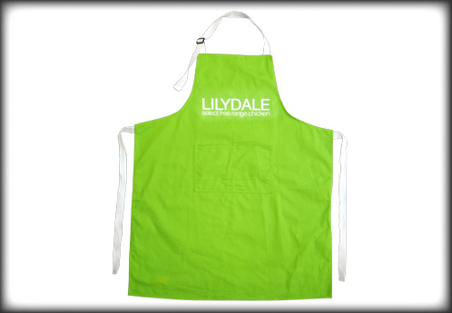 Cotton Twill Apron With Adjustable Strap
