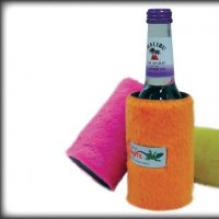 Fluffy Skinny Bottle Cooler