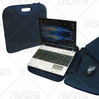 Notebook bag With De