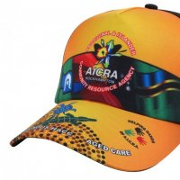 Sublimated cap