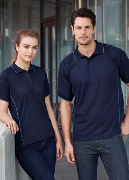 Mens Resort Polo Shirt