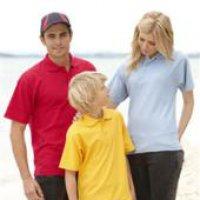 Pique Knit Polo Shir