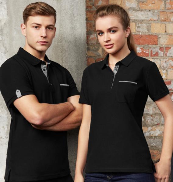 Edge Contrast Polo Shirt