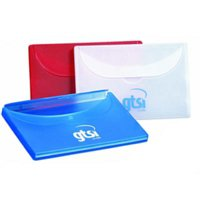Transparent Business Card Holder