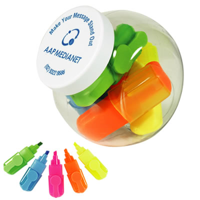 Container Of Highlight Markers