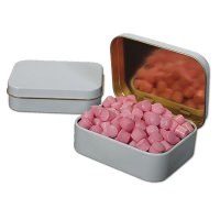 Musk Mini Candy Tabs In White Deluxe Tins