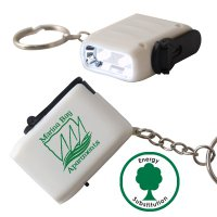 GeneratorLED Flashlight Keytag