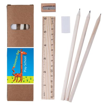 Stationery Set In Cardboard Box