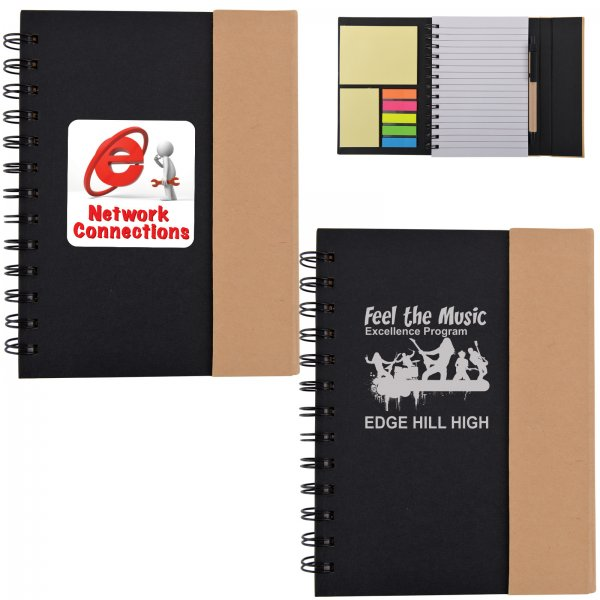 Recyclable Notebook / Noteflags / Pen
