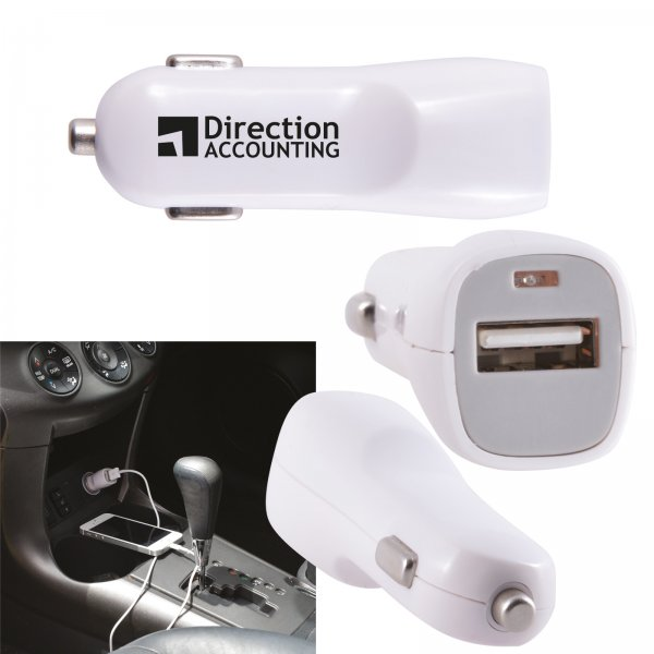 Single USB Outlet Car Charger