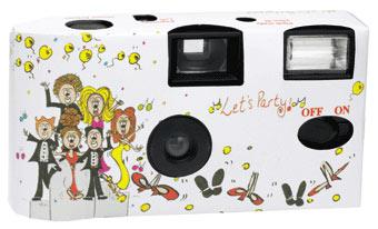 Preprinted Disposable Camera