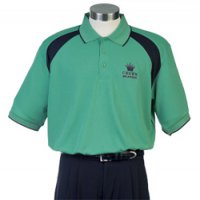 Mens Spliced Polo Sh