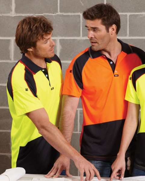 Mens Energy Microfibre Polo S/S