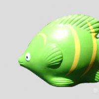 Green Fish Stress To