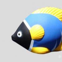 Blue Stress Fish