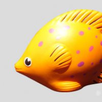 Orange Stress Fish