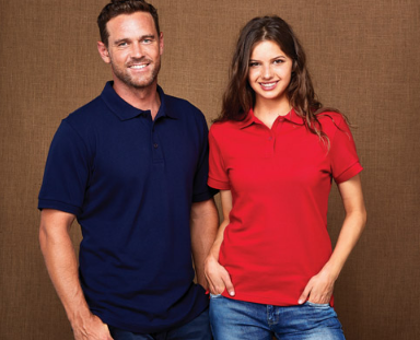 Ladies and Mens Traverse Polo
