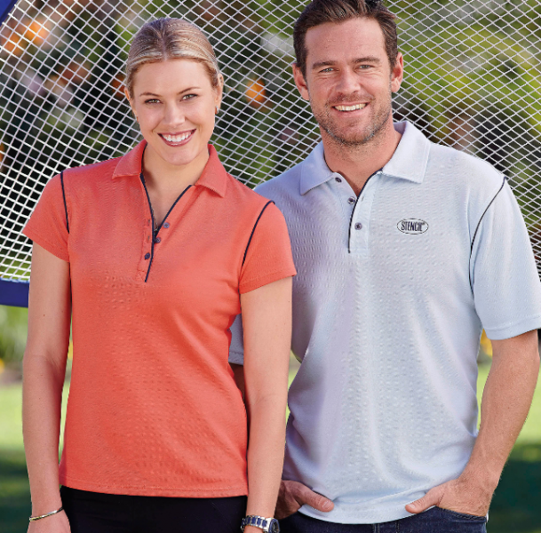 Ladies and Mens Bio-Weave Polo