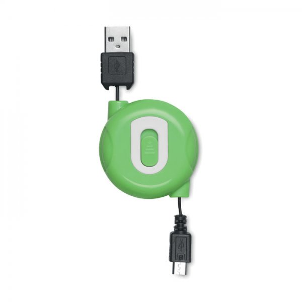 Retractable cable USB