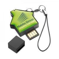 USB Keychain House