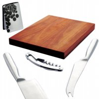 Acacia Cheese Set