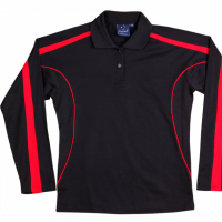 Long Sleeve Polo Shi