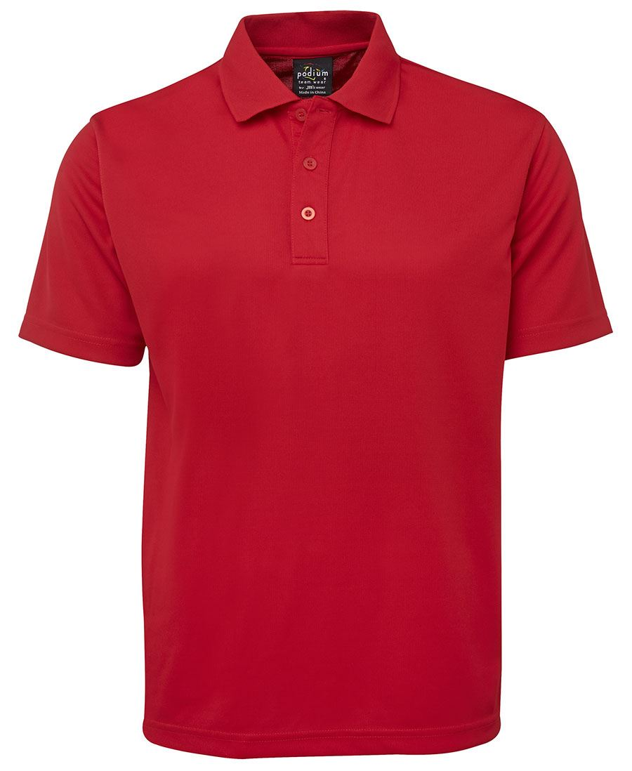 Solid Poly Polo