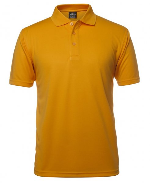 Adults Solid Poly Polo