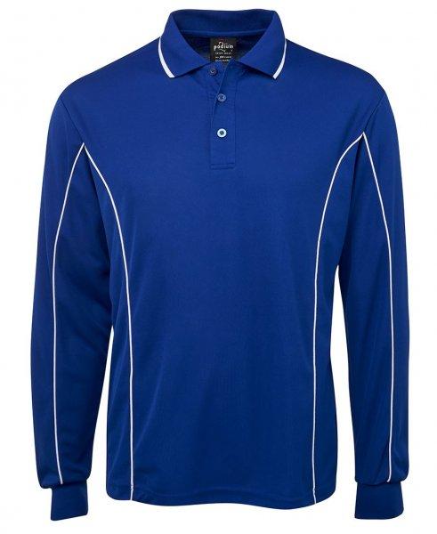 Long Sleeve Podium Polo Shirt