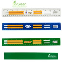 Bio Green pencil & Ruler Set