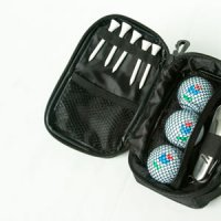 3 Ball Golfers Knife Pouch