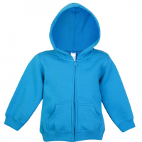 Fleece baby Zip Hood