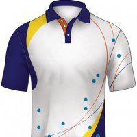 Sublimated polo shir