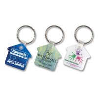 House Shape Keyring