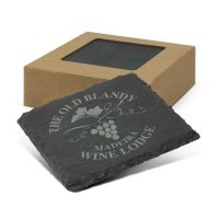 Slate Coaster Set of