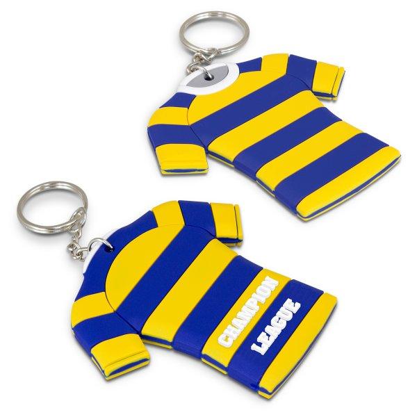 PVC Key Ring Large - Both Sides Moulded