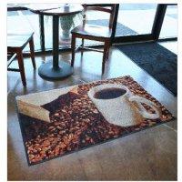 Plush printed floor